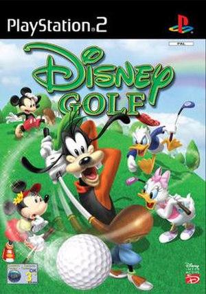 Disney Golf - European Union cover art of Disney Golf