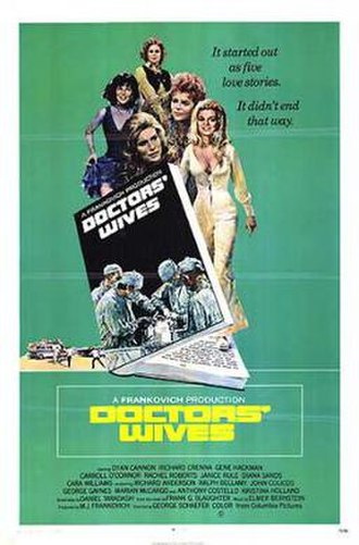 Doctors' Wives (1971 film) - Image: Doctors' Wives Film Poster