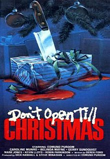 Don't Open Till Christmas Poster