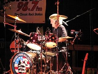 Don Brewer American drummer