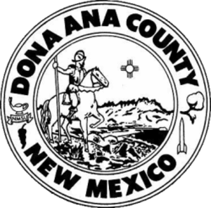 Doña Ana County, New Mexico - Image: Donna Anna County nm seal