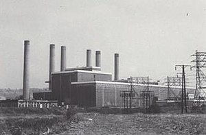 Dunston Power Station - Image: Dunston power station mccombie