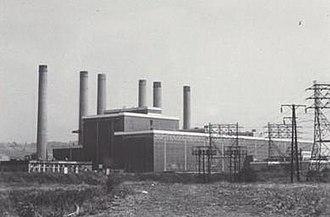 Dunston Power Station - Image: Dunston power station mccombie
