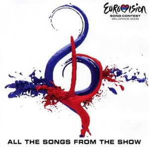 Eurovision Song Contest 2008 - Image: ESC 2008 album cover
