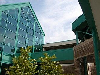 East Lyme High School - Main entrance