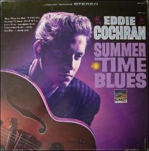 Summertime Blues (album) - Image: Eddie Cochran LP SUS5123