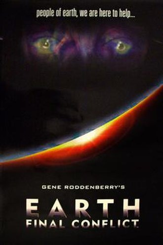 Earth: Final Conflict - Earth: Final Conflict launch poster