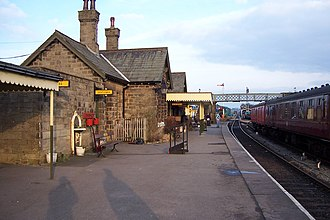 Embsay - Image: Embsay Station