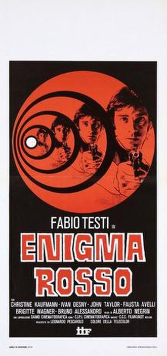 Red Rings of Fear - Image: Enigma rosso italian movie poster md
