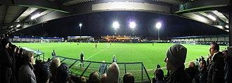 Hyde United F.C. - Ewen Fields in December 2011