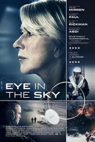 Eye in the Sky (2015 film) - British release poster