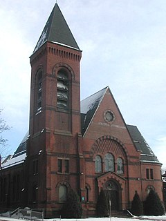 Windsor Avenue Congregational Church United States historic place
