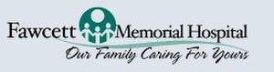 Fawcett Memorial Hospital - Image: Fawcett Hospital Logo
