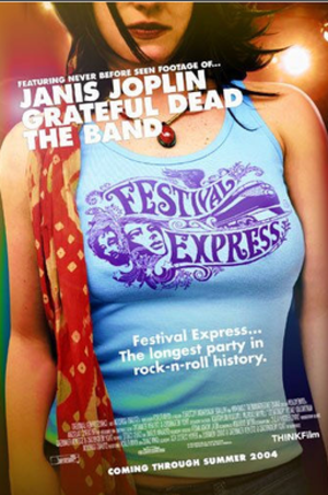 Festival Express - The movie poster