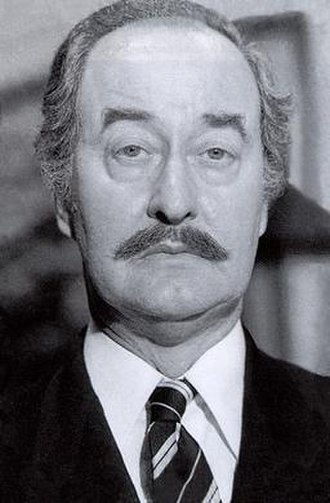 Frank Thornton - Thornton as Captain Peacock in Are You Being Served?