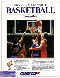 <i>GBA Championship Basketball: Two-on-Two</i> 1986 video game