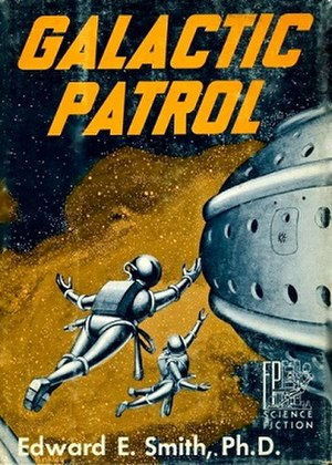 Galactic Patrol (novel) - Dust-jacket from the first edition