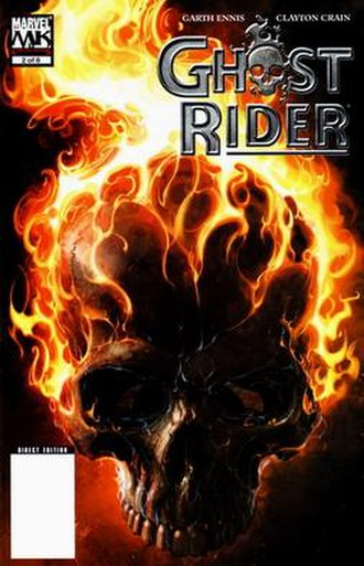 Ghost Rider: Road to Damnation - Image: Ghost Rider RTD 2 cover
