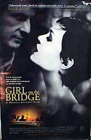 Girl on the Bridge - United States theatrical poster