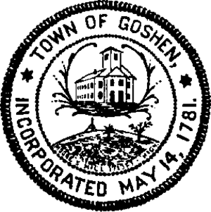 Goshen, Massachusetts - Image: Gosh seal