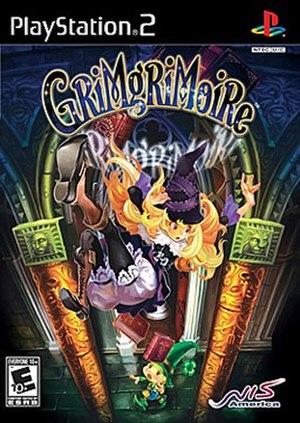 GrimGrimoire - Image: Grim Grimoire Boxart