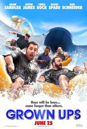 Grown Ups (film) - Theatrical release poster