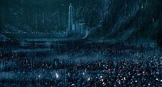 Battle of the Hornburg - The Battle of Helm's Deep in Peter Jackson's The Lord of the Rings: The Two Towers