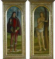 Holy Pilgrim and St.Sebastien  National Museum of Serbia , Belgrade