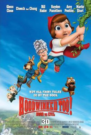 Hoodwinked Too! Hood vs. Evil - Theatrical release poster