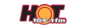 ZFKH-FM - Image: Hot 104.1 logo