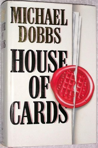 House of Cards (novel) - Image: House of Cards novel cover