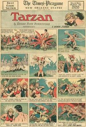 Tarzan in comics - Burne Hogarth's Tarzan (June 25, 1939)