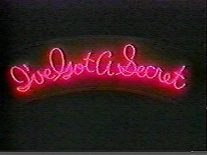 I've Got a Secret - The neon logo used on the 1976 revival of IGAS.