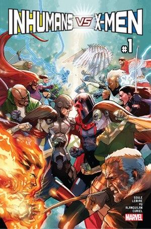 Inhumans vs. X-Men - Image: Inhumans vs X Men