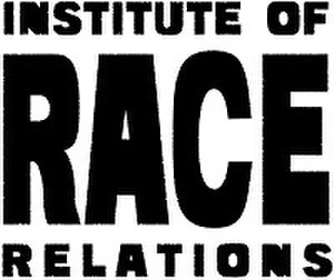 Institute of Race Relations - Image: Institute of Race Relations logo