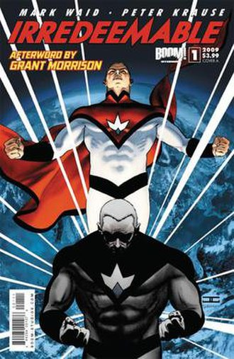 Irredeemable - Image: Irredeemable Cassaday cover art