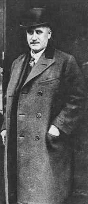 James White (financier) - James White in the 1920s