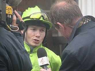 Jamie Spencer - Jamie Spencer at York Races