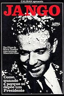 <i>Jango</i> (film) 1984 film directed by Silvio Tendler