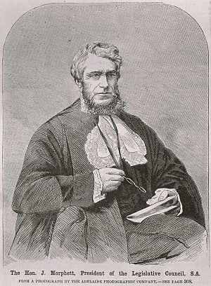 John Morphett - John Morphett, c. 1866