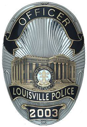 Louisville Metro Police Department - Image: KY Louisville Metro Police Badge