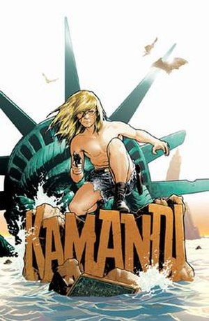 Kamandi - Cover for Countdown Special: Kamandi, The Last Boy on Earth. Art by Ryan Sook.