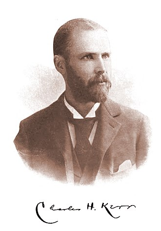 Charles H. Kerr - Publisher Charles H. Kerr as he appeared in 1895.