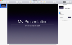 Keynote (presentation software) - Wikipedia