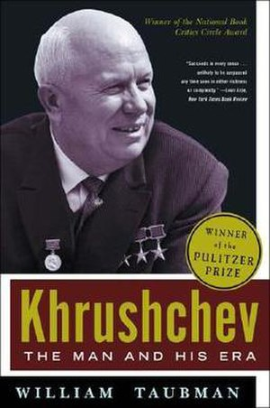 Khrushchev: The Man and His Era - Image: Khrushchev The Man and His Era book cover