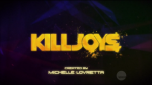 Killjoys (TV series) - Title card since the second season