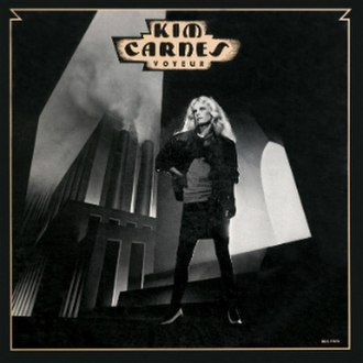 Voyeur (Kim Carnes song) - Image: Kim Carnes Voyeur single artwork