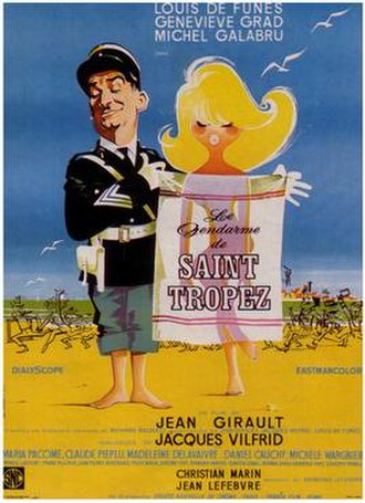 The Troops of St. Tropez - Film Poster