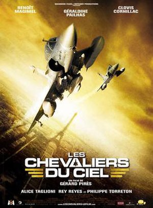 Sky Fighters - French theatrical poster