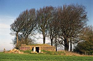 Starfish site - World War II control bunker on Liddington Hill